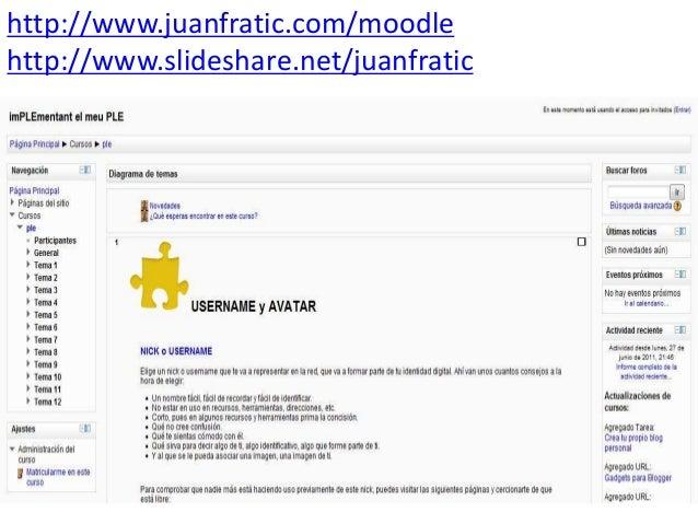 PLE: Entornos Personales de Aprendizaje - Jornada #InformaTICaCs