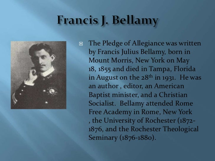 Image result for francis bellamy