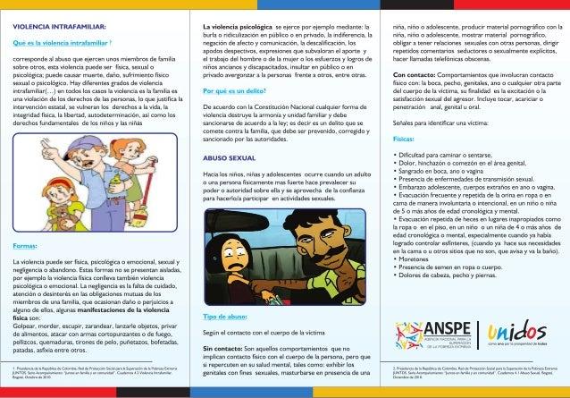 VIOLENCIA INTRAFAMILIAR / ABUSO SEXUAL COMO PREVENIRLOS Slide 2