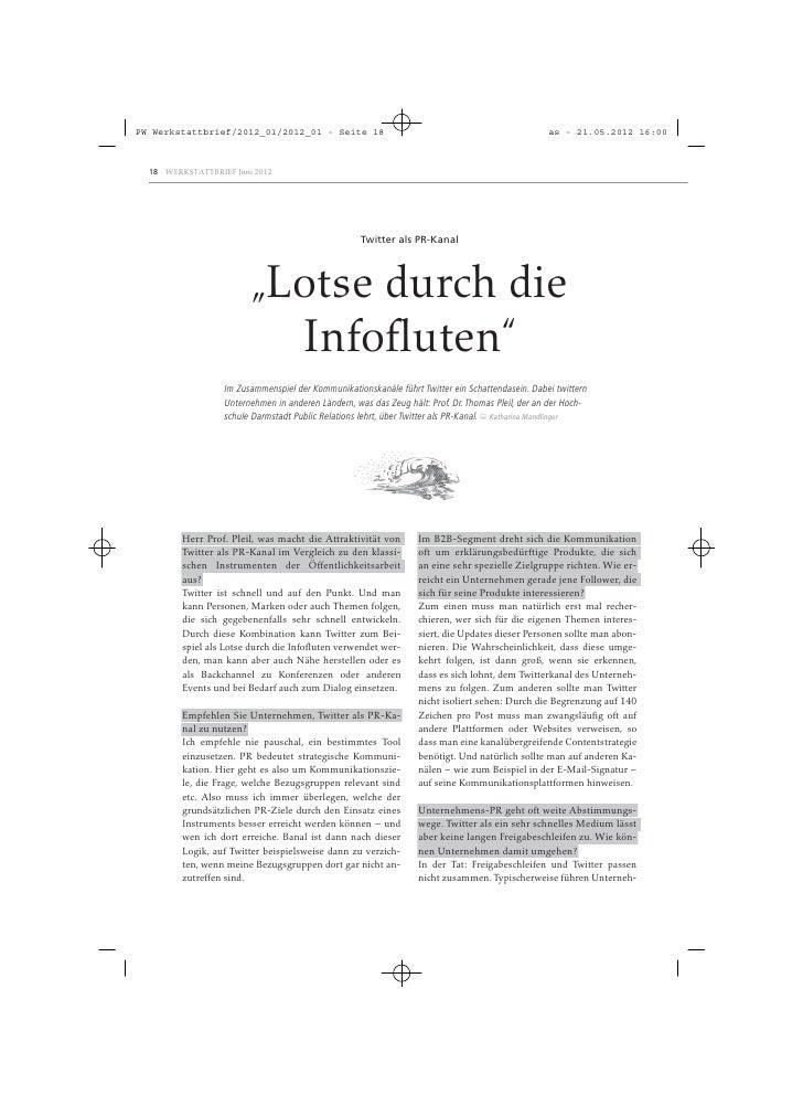 PW Werkstattbrief/2012_01/2012_01 - Seite 18                                                       as - 21.05.2012 16:00  ...