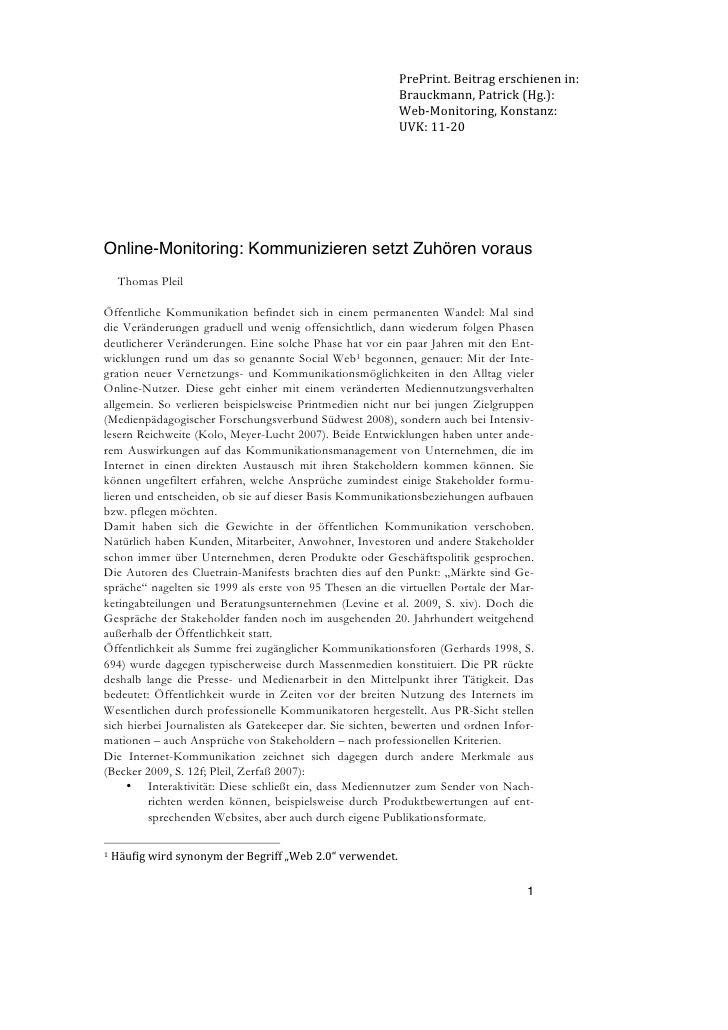 PrePrint.Beitragerschienenin:                                                                 Brauckmann,Patrick(Hg....