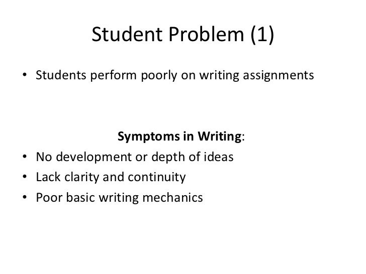 difficulties in writing essay