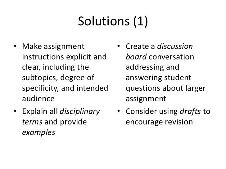 student writing problems faculty challenges solutions 5