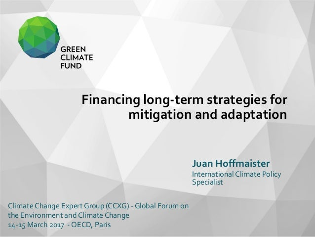 adaptation of longterm contract by international Oceania (contract - more than 1 year), by giz international services  y) short  term experts in climate change adaptation and/or mitigation.