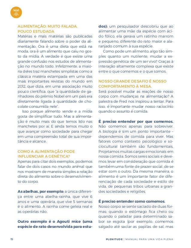 abc7c04e7 Plenitude: Manual Para a Vida Plena