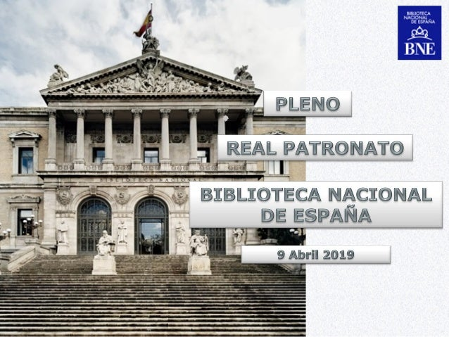 Evolución de los puestos de trabajo de la BNE (2010-2018) 2 Personal 2010 2011 2012 2013 2014 2015 2016 2017 2018 Funciona...