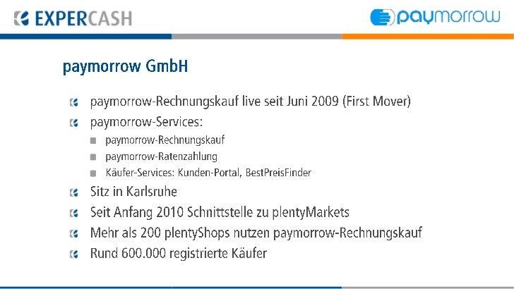 EXPERCASH GmbH  Einer der führenden Full-Service Provider für komplettes  ePayment in Online Shops  Gegründet vor 10 Jahre...