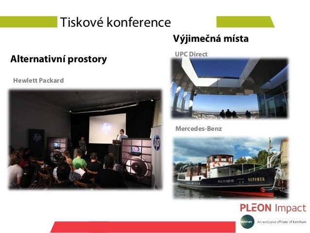 Tiskové konference                                   Výjimečná místa                                   UPC DirectAlternati...