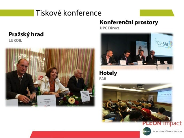 Tiskové konference                          Konferenční prostory                          UPC DirectPražský hradLUKOIL    ...