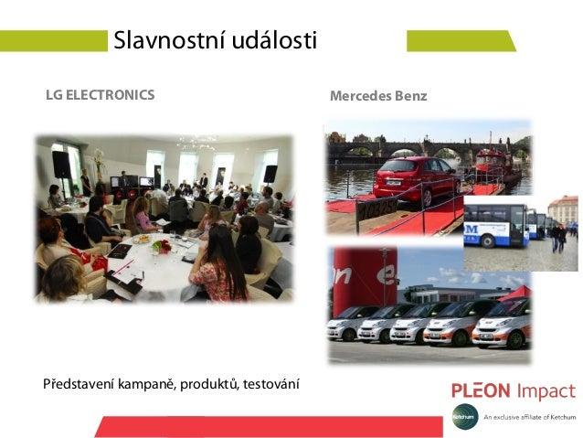 Slavnostní událostiLG ELECTRONICS                             Mercedes BenzPředstavení kampaně, produktů, testování