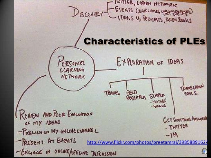 Characteristics of PLEs<br />http://www.flickr.com/photos/preetamrai/3985889162/<br />