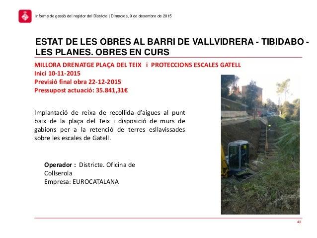 Consell plenari del districte de sarri sant gervasi for Aigues de barcelona oficina