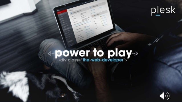 WHD.usa - Plesk - more than just a control panel - reveal the power of web ops with plesk - jan löffler Slide 2