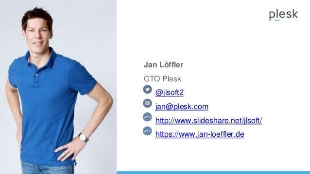 World Hosting Days Plesk presentation - Day after tomorrow - How to survive the Cloud Tsunami - Jan Löffler