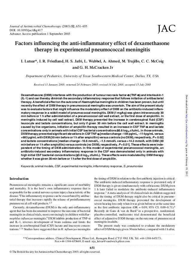 Journal of Antimicrobial Chemotherapy (2003) 52, 651–655 DOI: 10.1093/jac/dkg417 Advance Access publication 1 September 20...