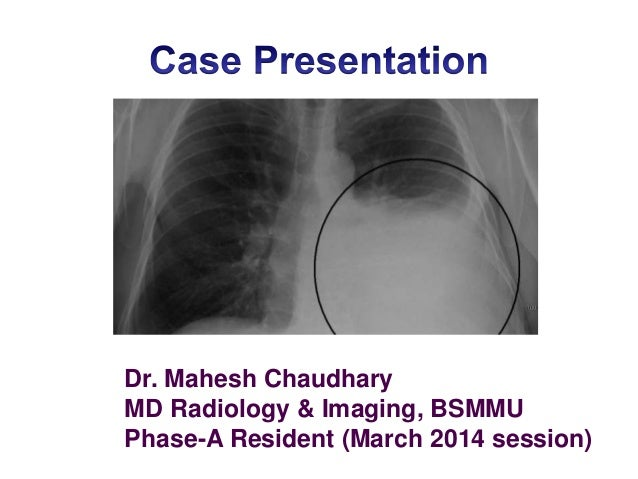 Dr. Mahesh Chaudhary MD Radiology & Imaging, BSMMU Phase-A Resident (March 2014 session)