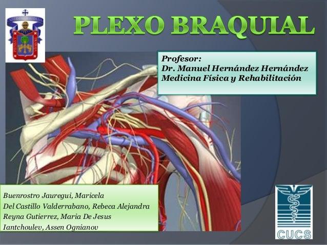 Profesor: Dr. Manuel Hernández Hernández Medicina Física y Rehabilitación  Buenrostro Jauregui, Maricela Del Castillo Vald...
