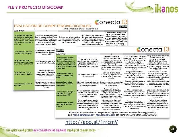 !28 PLE Y PROYECTO DIGCOMP http://goo.gl/1rrcmV