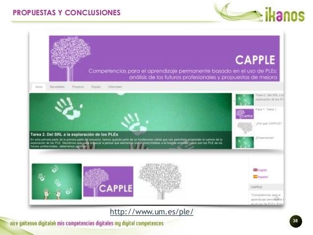 !38 PROPUESTAS Y CONCLUSIONES http://www.um.es/ple/
