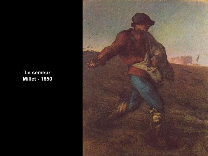 Le semeurMillet - 1850