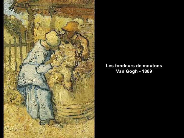 Les tondeurs de moutons     Van Gogh - 1889