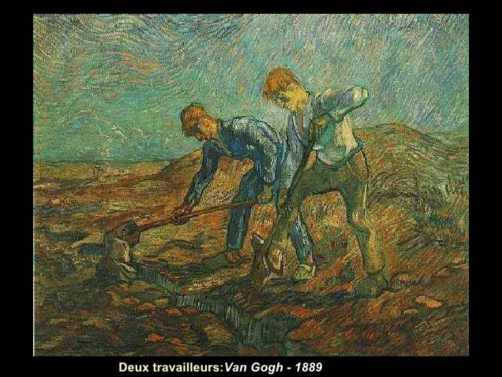 Deux travailleurs:Van Gogh - 1889