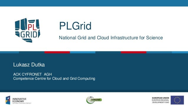 PLGrid National Grid and Cloud Infrastructure for Science ACK CYFRONET AGH Competence Centre for Cloud and Grid Computing ...