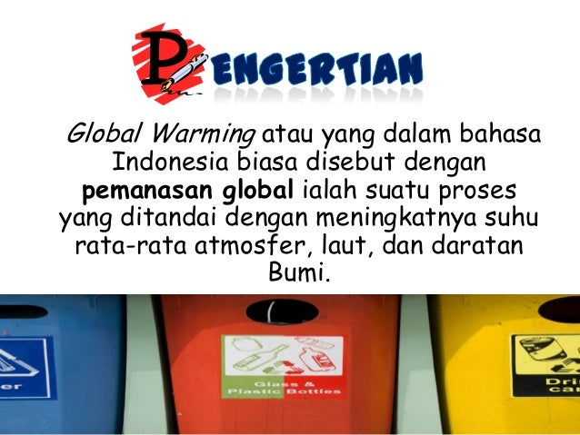 Global warming (pemanasan global) youtube.