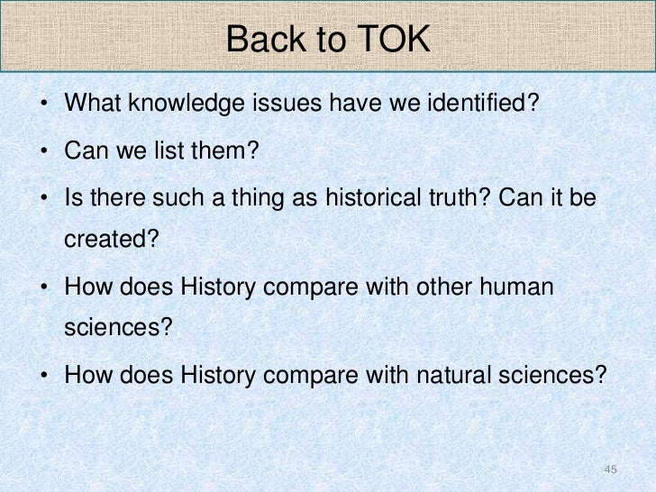 A Competitive IB Theory of Knowledge Essay (ToK) Development