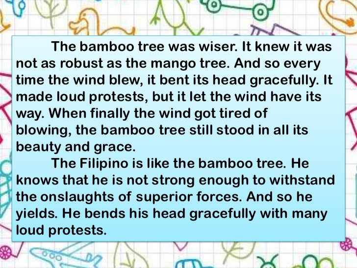pliant like a bamboo i v mallari Pliant like the bamboo by i v mallari research paper on college drinking a  report on canada and its new immigrants a literary analysis of utopia by thomas .