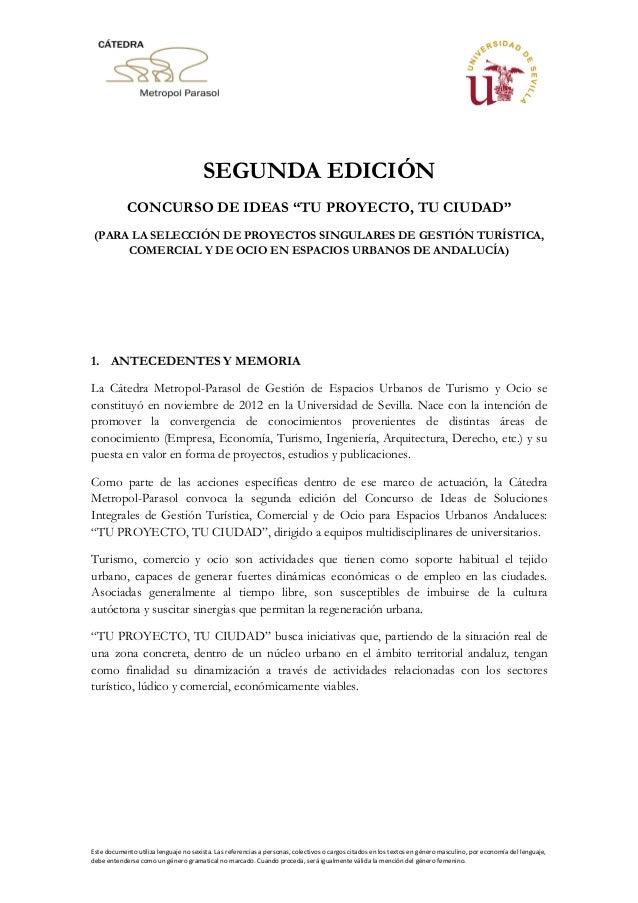 Este documento utiliza lenguaje no sexista. Las referencias a personas, colectivos o cargos citados en los textos en géner...