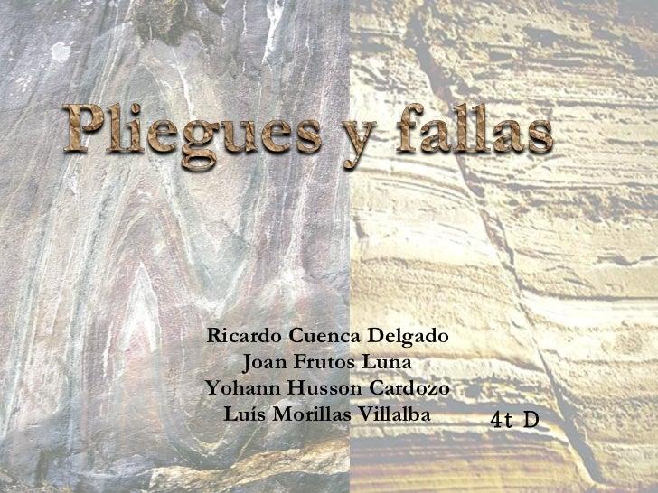 Ricardo Cuenca Delgado Joan Frutos Luna Yohann Husson Cardozo Luís Morillas Villalba 4t D