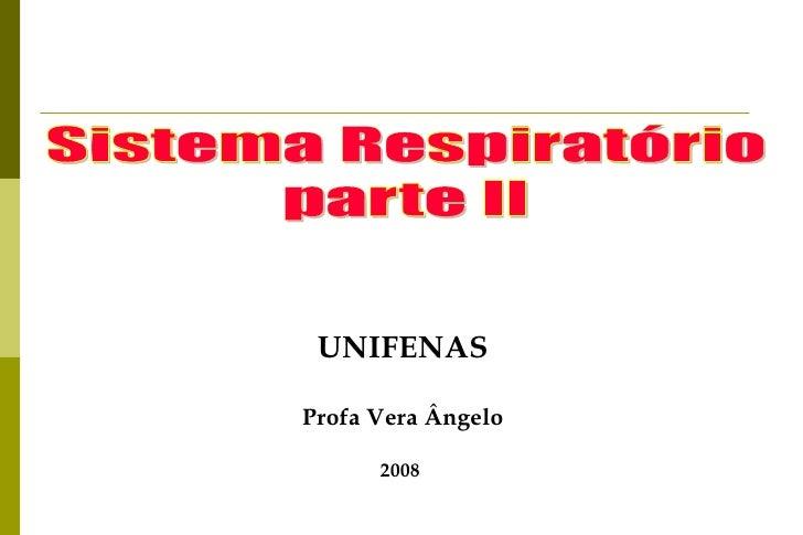 Síndromes Respiratórias PL 02 - 2010