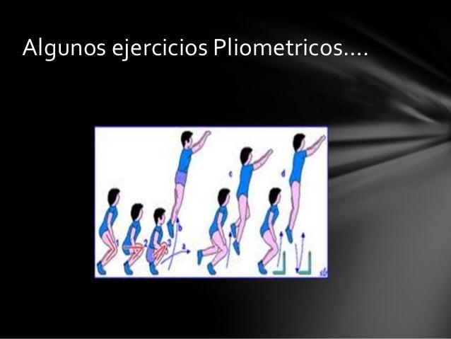 Algunos ejercicios Pliometricos….