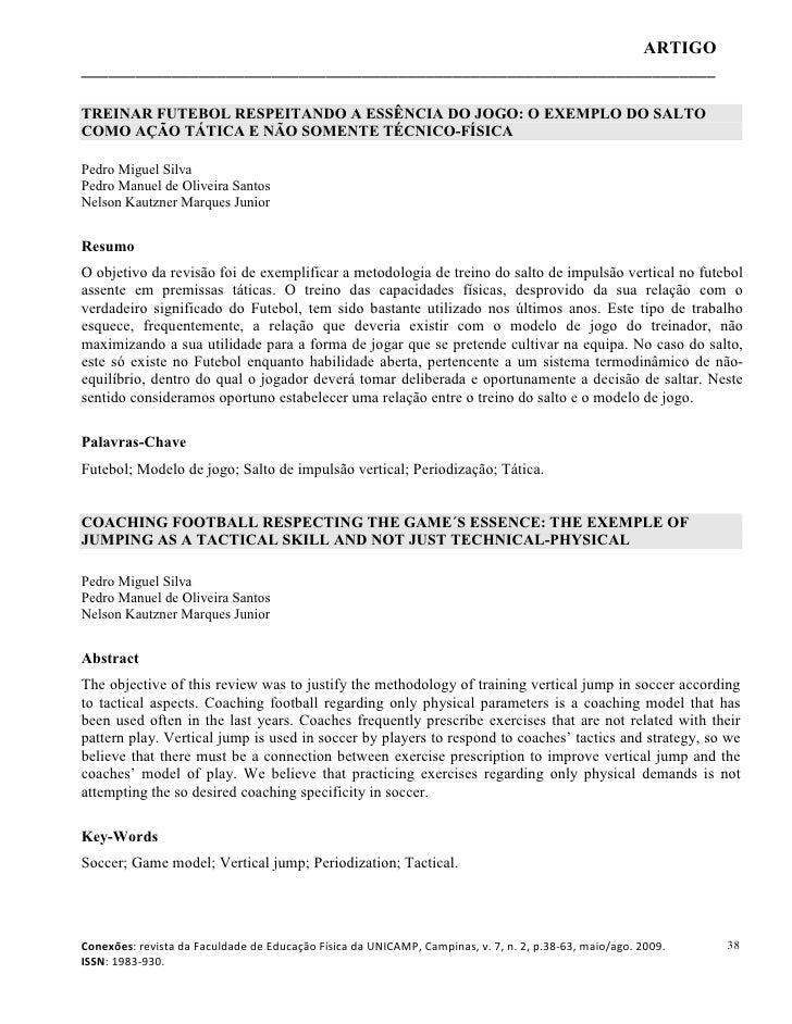 Pliometria y periodización táctica