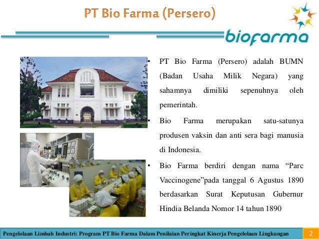 Review Proper PT Bio Farma