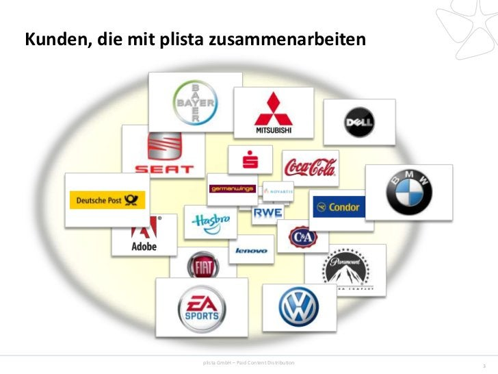 Kunden, die mit plista zusammenarbeiten                    plista GmbH – Paid Content Distribution                        ...