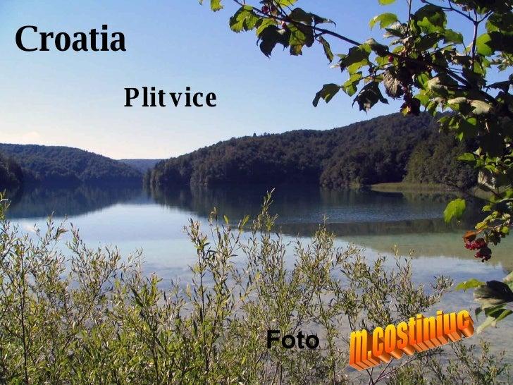 Croatia Plitvice m.costiniuc Foto