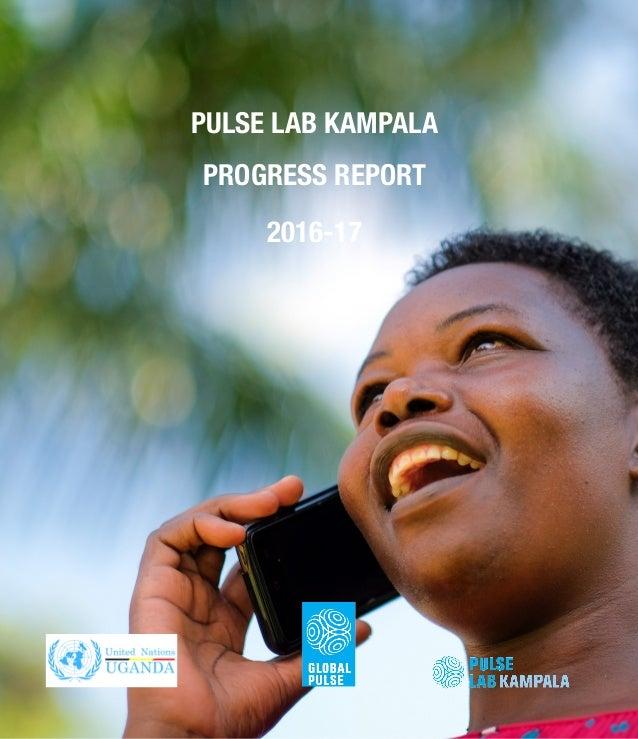 PULSE LAB KAMPALA PROGRESS REPORT 2016-17
