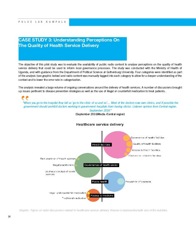 P U L S E L A B K A M P A L A CASE STUDY 3: Understanding Perceptions On The Quality of Health Service Delivery The object...