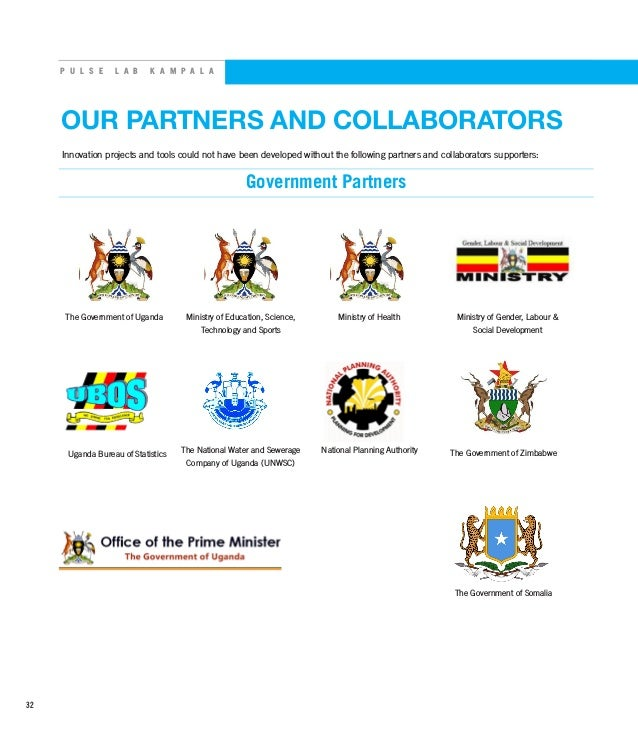 P U L S E L A B K A M P A L A OUR PARTNERS AND COLLABORATORS Innovation projects and tools could not have been developed w...