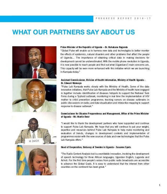 Pulse Lab Kampala Progress Report 2016/2017