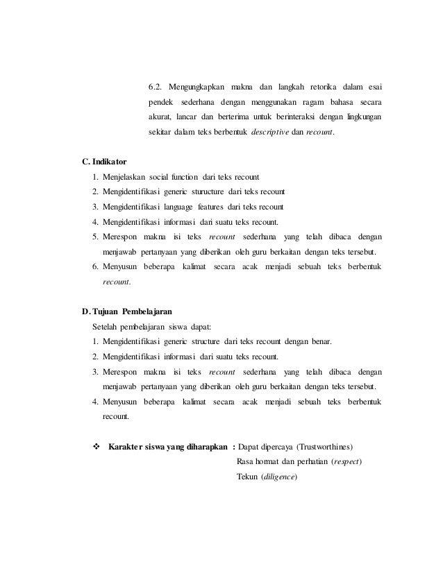 Rpp Recount Text Ktsp