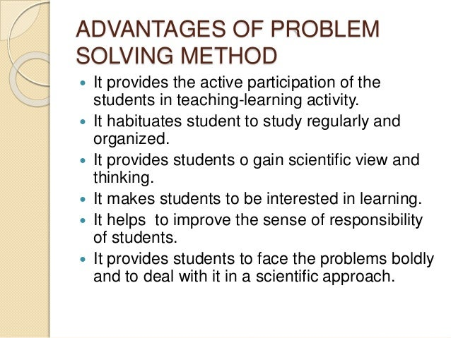 military problem solving method