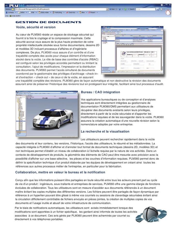 Plm360 FrançAis Slide 2