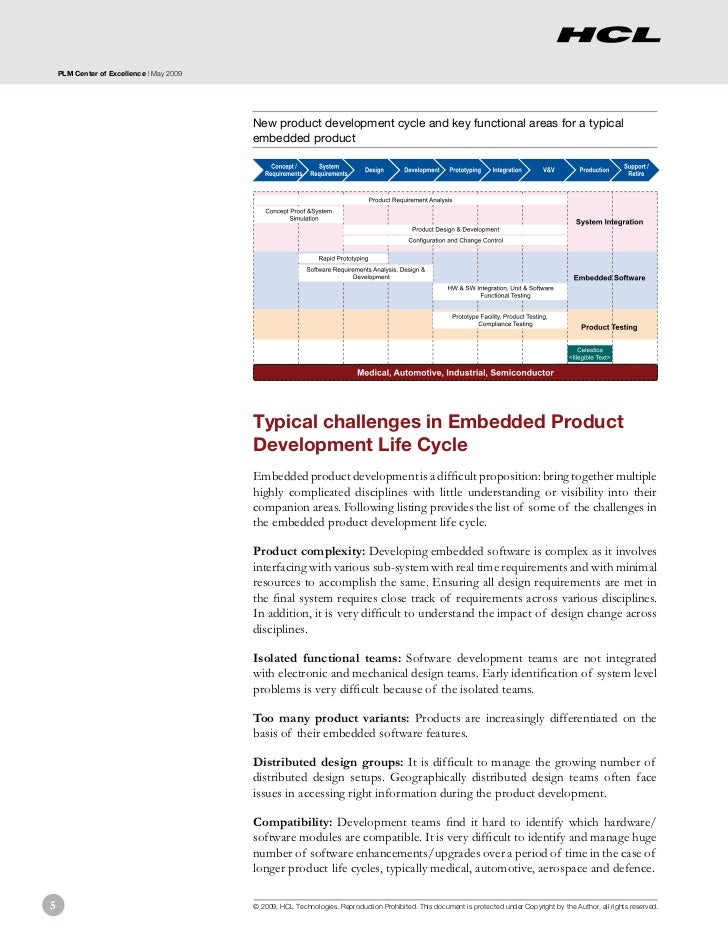 PLM Center of Excellence | May 2009                                          New product development cycle and key functio...