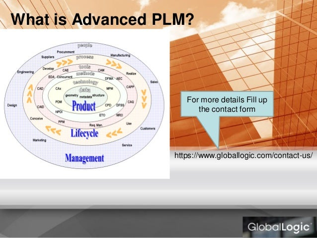 What is Advanced PLM? For more details Fill up the contact form https://www.globallogic.com/contact-us/