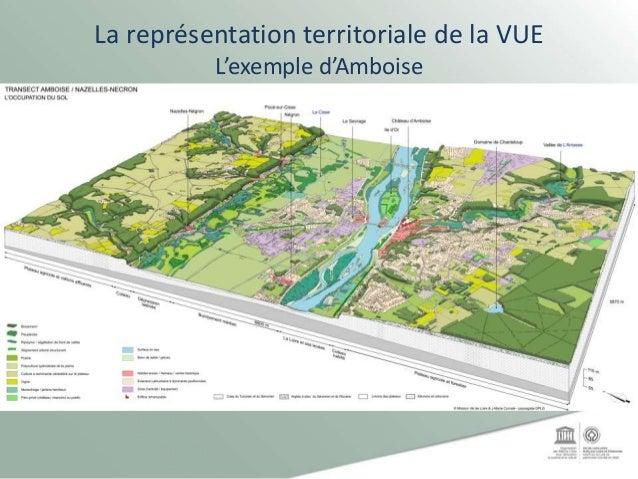 La représentation territoriale de la VUE L'exemple d'Amboise