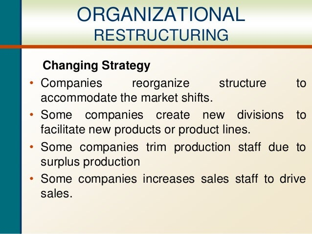 Organizational restructuring ppt expanding organizational restructuring 7 wajeb Image collections