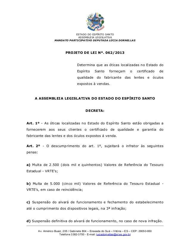 ESTADO DO ESPÍRITO SANTO                                  ASSEMBLEIA LEGISLATIVA                     MANDATO PARTICIPATIVO...